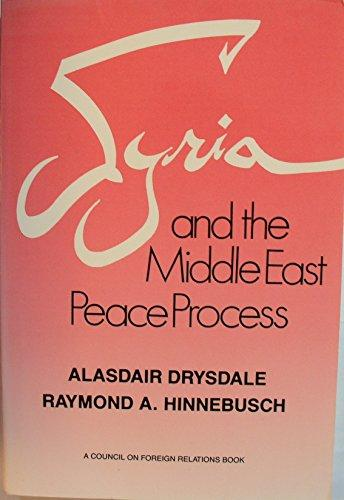 Syria And The Middle East Peace Process