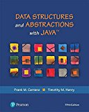Data Structures and Abstractions with Java (What's New in Computer Science)