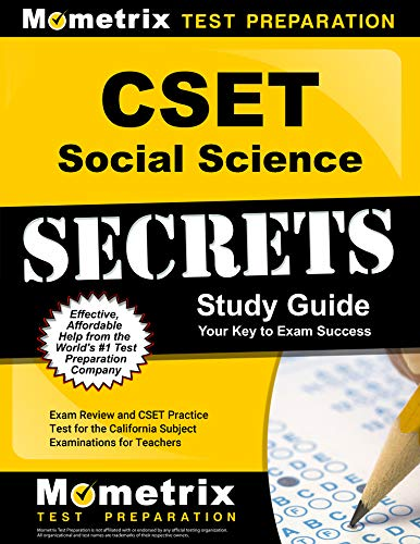 CSET Social Science Secrets Study Guide - Exam Review and CSET Practice Test for the California Subject Examinations for Teachers [2nd Edition]