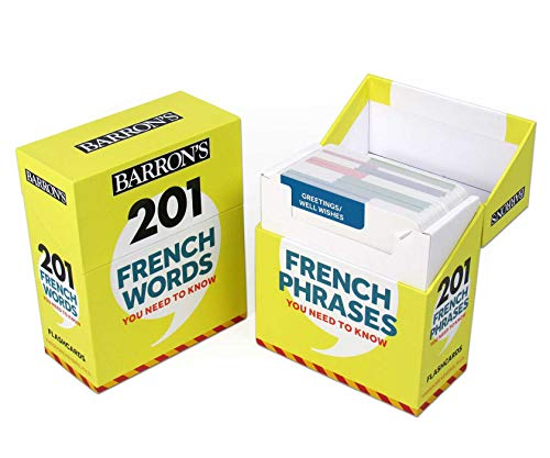 French Words and Phrases You Need to Know (Barron's Foreign Language Guides) (French Edition)