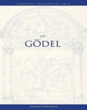 On Godel (wadsworth Philosophers Series)