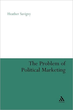 The Problem Of Political Marketing