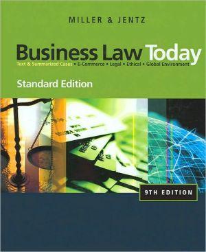 Cheap Textbook Image ISBN: 9780324786521