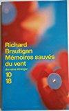 Mémoires sauvés du vent (Littérature étrangère) (French Edition)