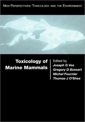Toxicology Of Marine Mammals (new Perspectives: Toxicology And The Environment)