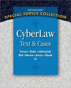 Cheap Textbook Image ISBN: 9780324399721